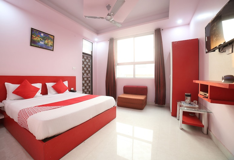 OYO 24220 波赫拉國際飯店, 齋浦爾, 雙人或雙床房, 客房