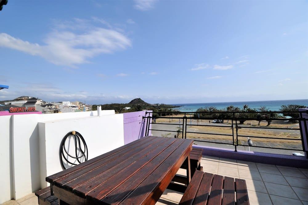 頂級四人房, 面海 - 陽台景觀