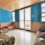 頂級四人房, 面海 - 客廳