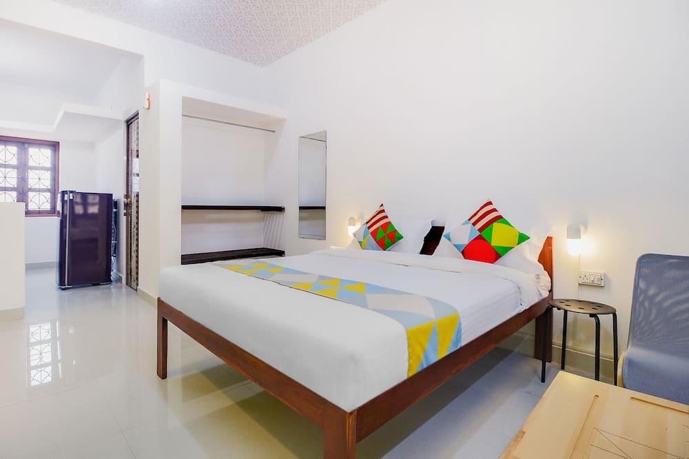 Kambarys (1 dvigulė / 2 viengulės lovos) - Kambarys