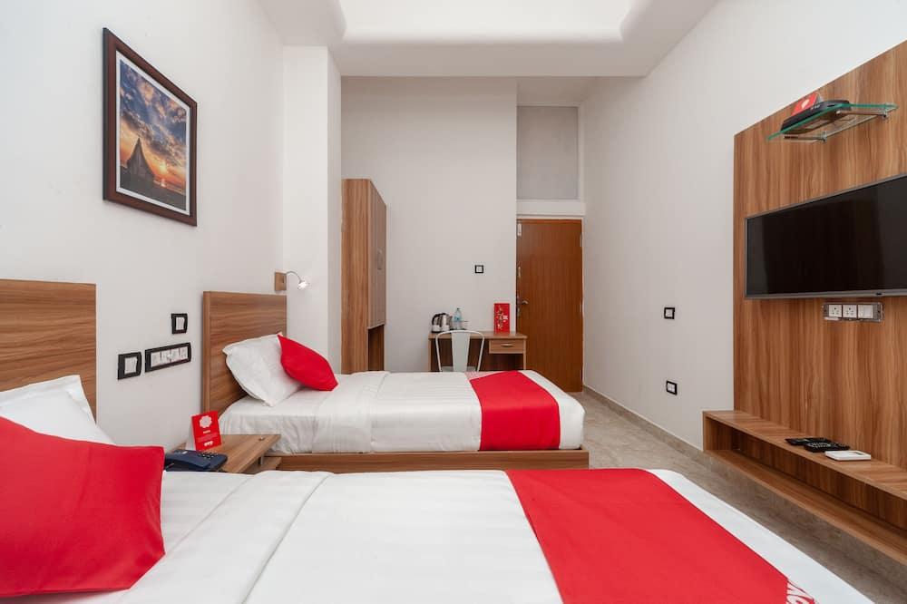 Szoba kétszemélyes vagy két külön ággyal - Vendégszoba