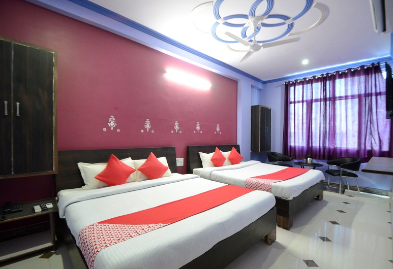 OYO 19451 Hotel Blue Moon, Jaipur, Quarto casal ou duplo, Quarto