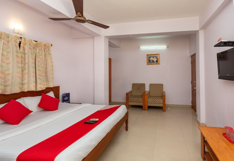 OYO 18953 Anara Residency, Chennai, Camera con letto matrimoniale o 2 letti singoli, Camera