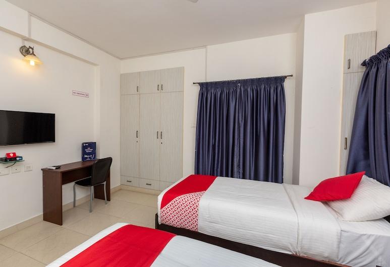OYO 23202 Cute Orange Service Apartments, Chennai, Camera con letto matrimoniale o 2 letti singoli, Camera