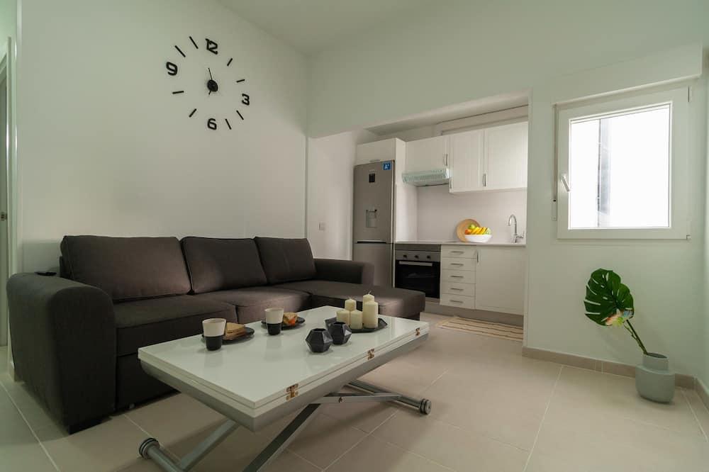Apartmán, 1 spálňa (206) - Obývacie priestory