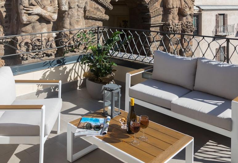 I Mori di Porta Nuova Terrace&Suite, Palermo, Suite panoramica, terrazzo, vista città (Porta Felice Apartment), Terrazza/Patio