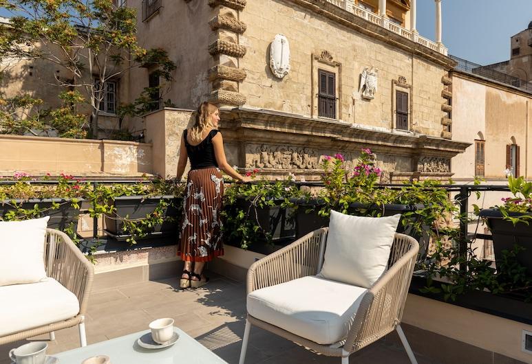 I Mori di Porta Nuova Terrace&Suite, Palermo, Terrasse/Patio