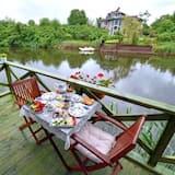 屋外レストラン