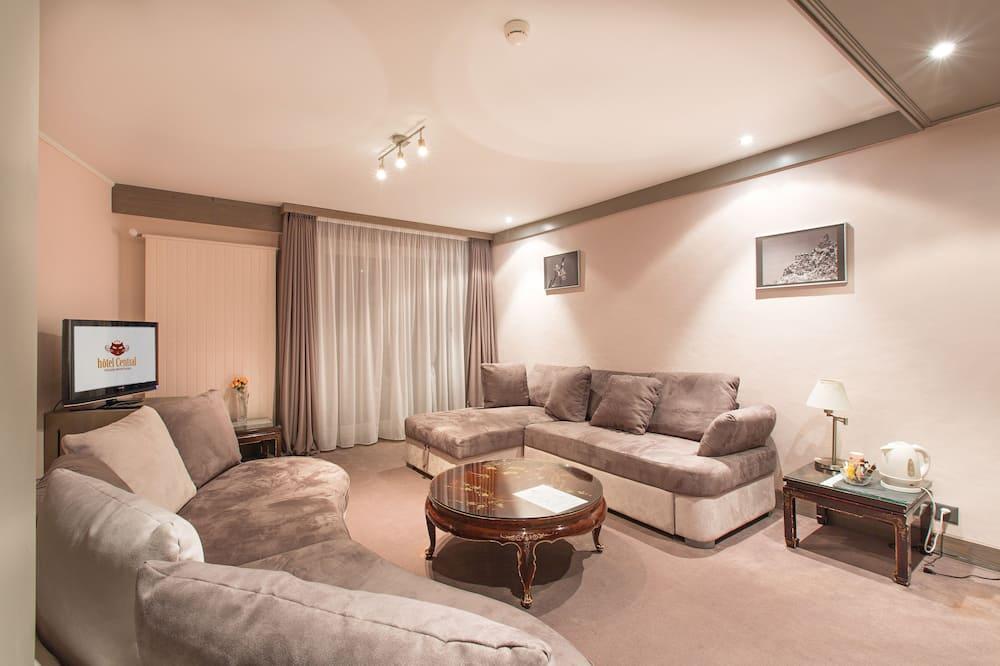 Apartament, 3 sypialnie, 2 łazienki - Salon
