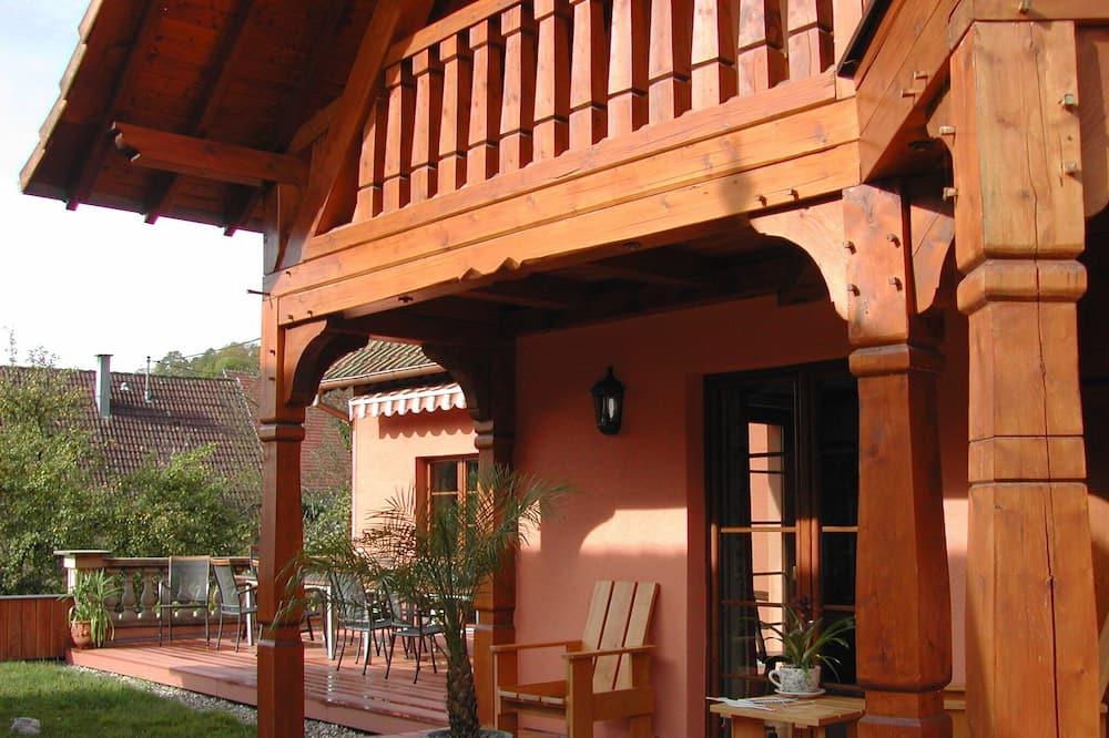 Cottage Tradition (vue sur les vergers) - Vue depuis le balcon