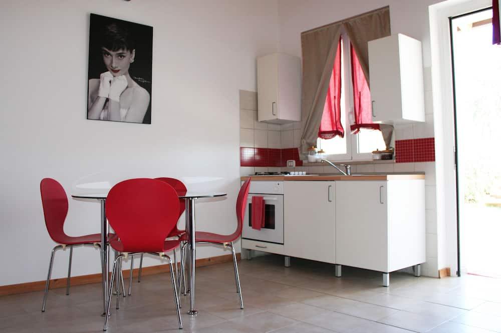 Apartment, 1 Bedroom, Terrace (Oca blu) - Living Area