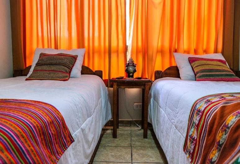 Happy House Inn, Cuzco, Zweibettzimmer, 2Einzelbetten, Gemeinschaftsbad, Zimmer