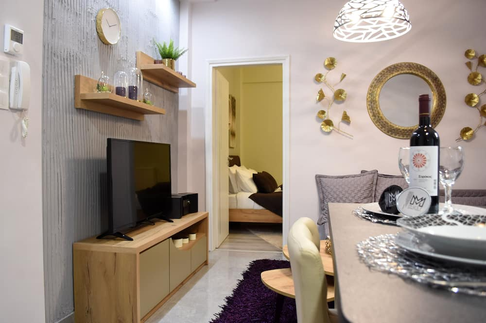 Deluxe Apartment (Kosmima) - In-Room Dining