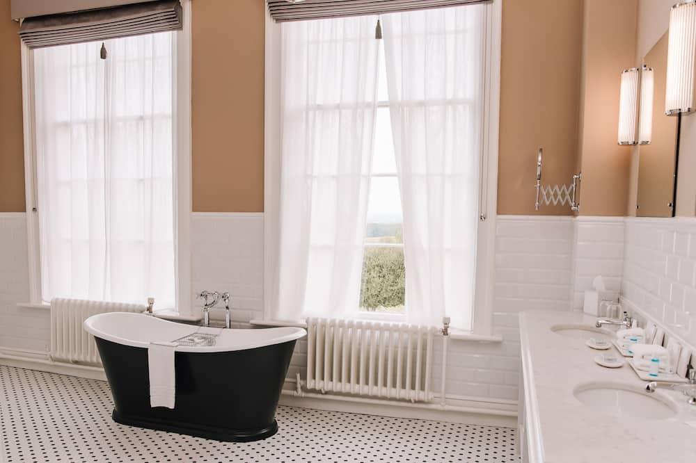奢華套房 - 浴室