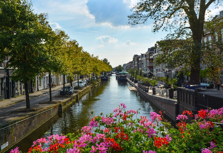 Gorgeous canal house in The Hague city, Den Haag, Terrein van accommodatie