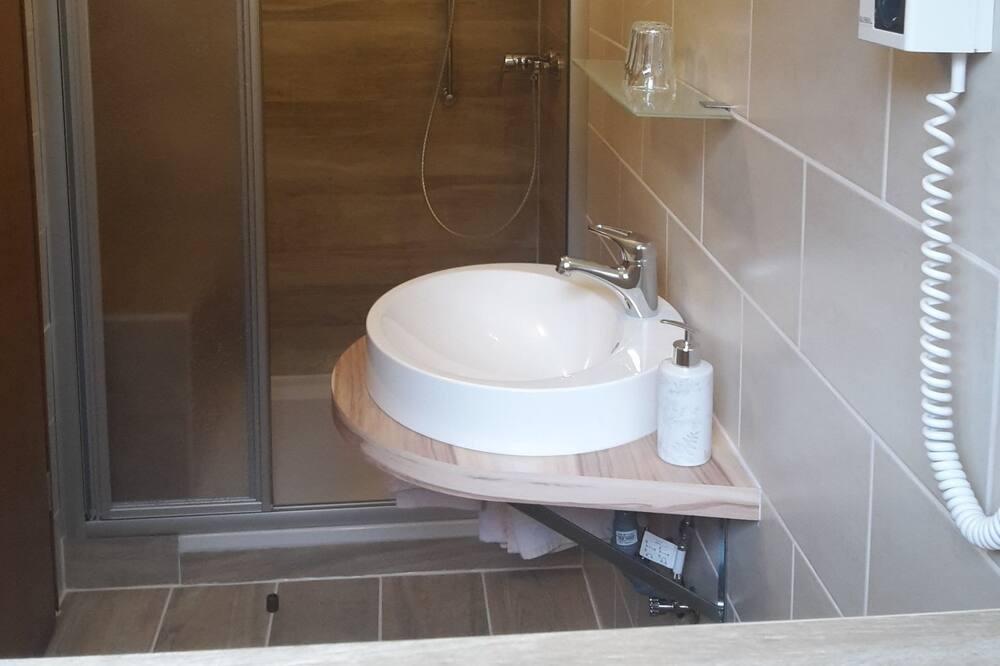 Dvivietis kambarys, 1 standartinė dvigulė lova - Vonios kambarys