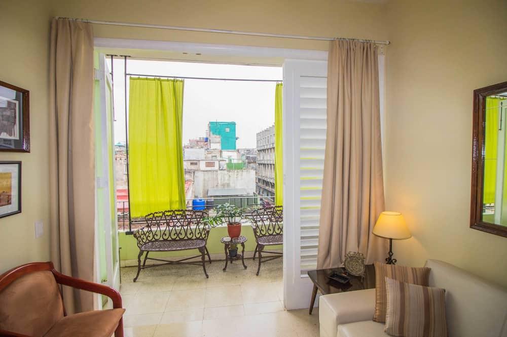 엘리트 아파트, 침대(여러 개), 금연 - 발코니