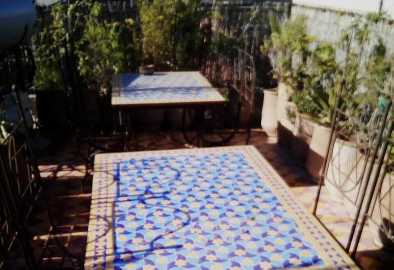 Dar Margot, Marrakech, Terassi/patio