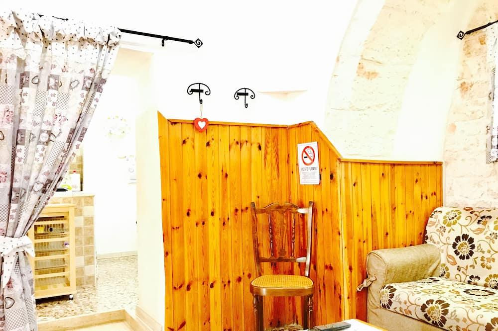 Appartement, 1 chambre, patio, vue ville (Trullo) - Salle de séjour