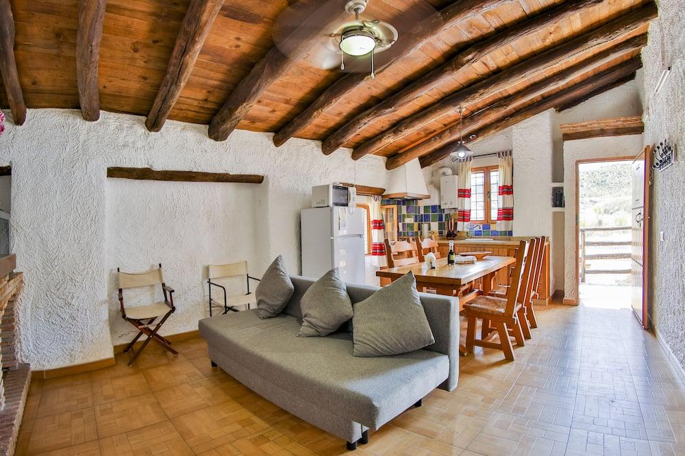 Namas, 2 miegamieji (Cortijo) - Svetainės zona