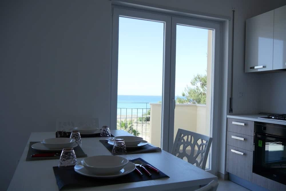 公寓, 1 間臥室, 海景 - 客房餐飲服務