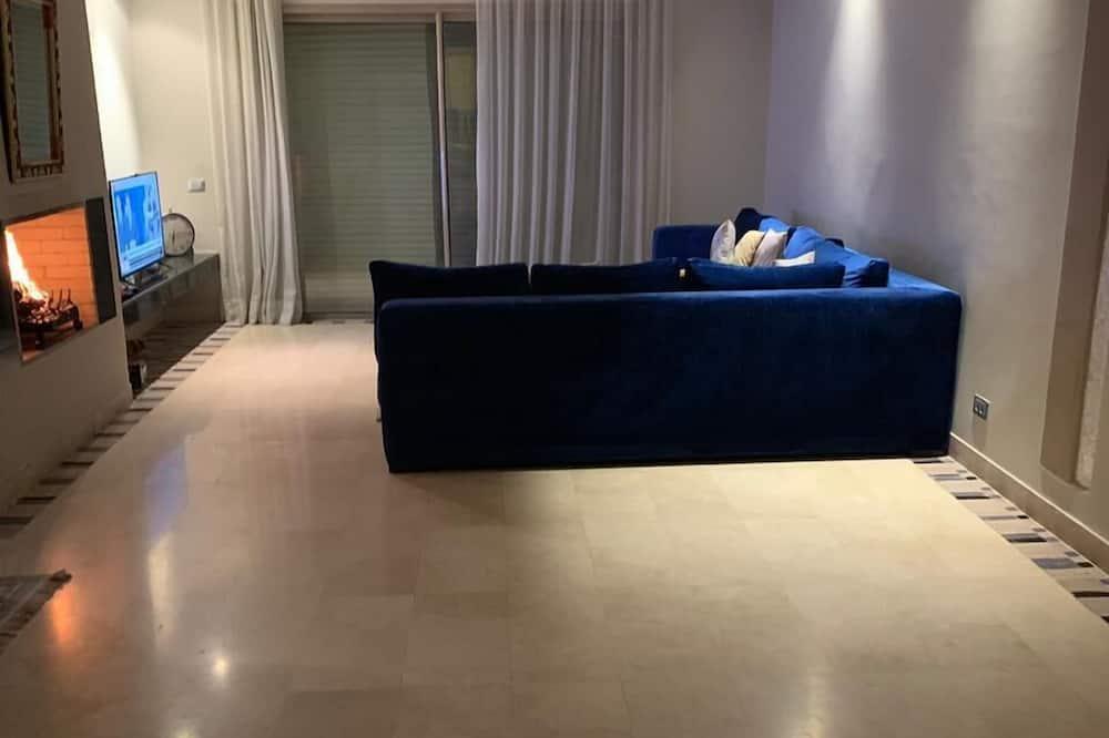 Huoneisto, 3 makuuhuonetta - Olohuone