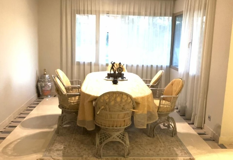Appartement Prestigia, Marrakech, Appartement, 3 slaapkamers, Eetruimte in kamer