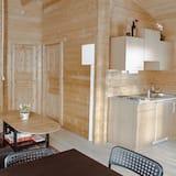 Cabin, 2 Bedrooms, Sea View - Living Area
