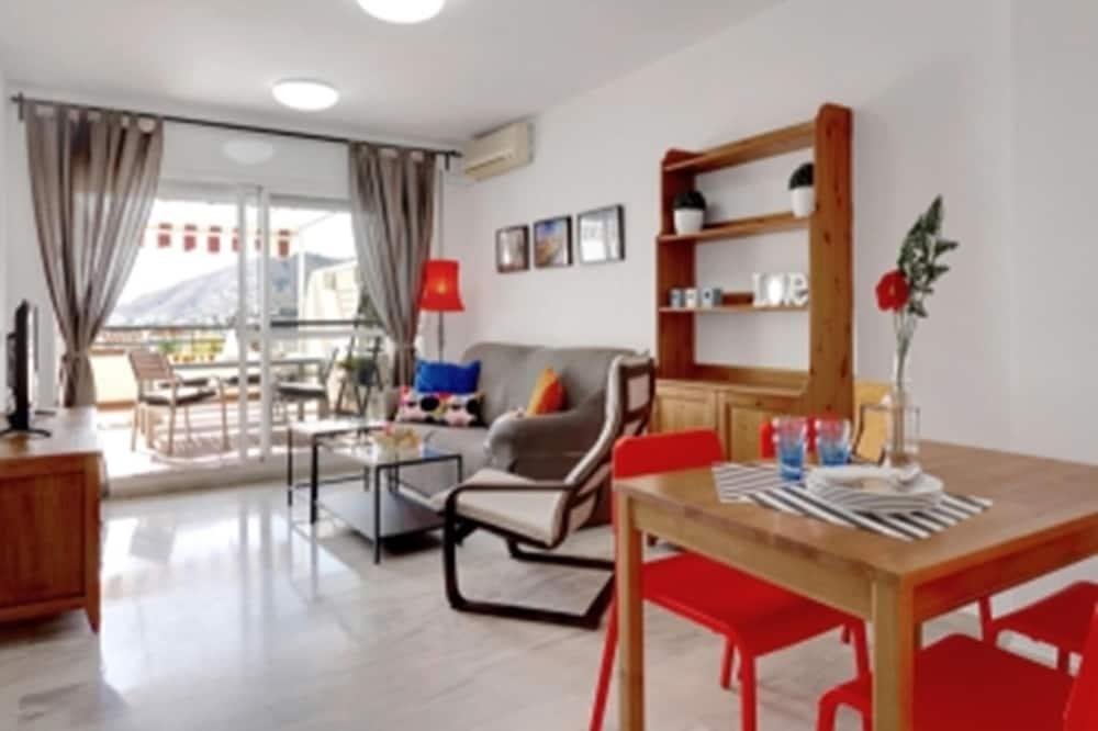 Apartmán, 2 spálne, výhľad na hory - Obývačka