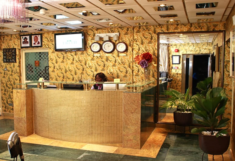 Erith Apartments and Suites, Lagos, Reception