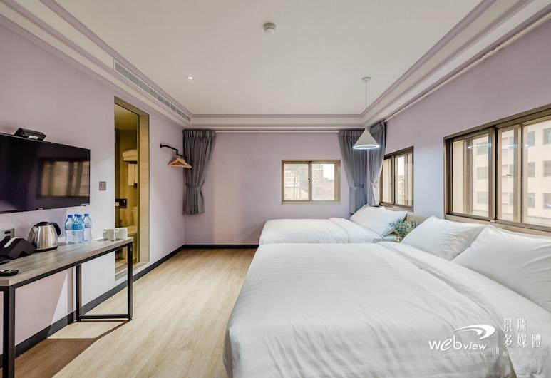 Prince Hotel, Jiaoxi, Premier Quadruple Room, Guest Room