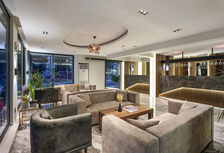 Rodinn Park Hotel, Konyaaltı, Sitzecke in der Lobby