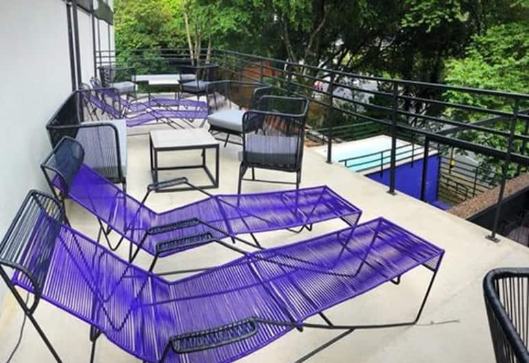 Aura Hostel Boutique, Medellin, Delad sovsal - Comfort - flera sängar - icke-rökare - delat badrum (Rinoceronte), Hotellounge
