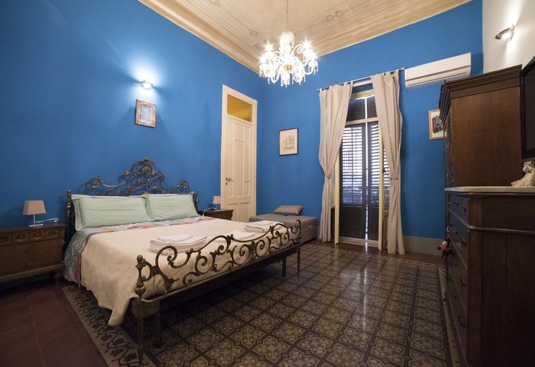 Medusa B&B, Palermo, Tek Büyük Yataklı Oda, Özel Banyo (External), Oda