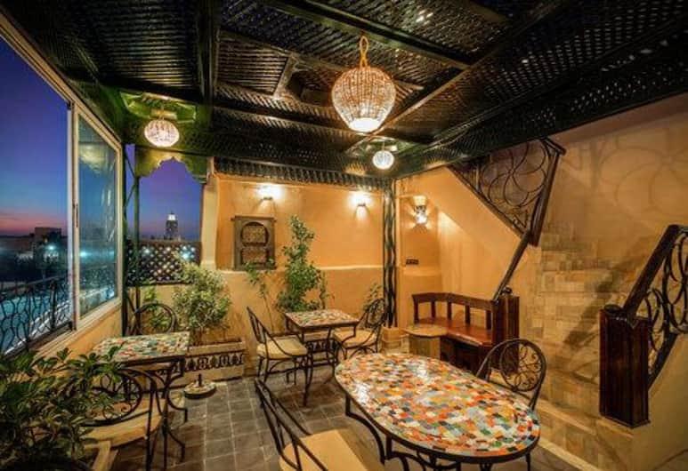 Janat Salam, Marrakech, Terassi/patio