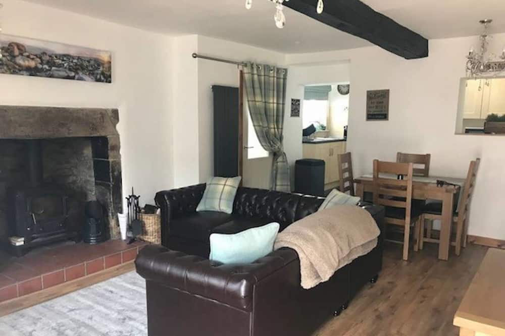 Deluxe Cottage - 3 Bedrooms (2 King rooms, 1 Twin) - Living Area