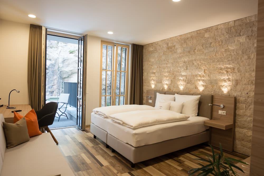 Deluxe tweepersoonskamer, voor 1 persoon - Kamer