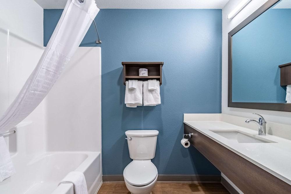 Стандартный номер, 2 двуспальные кровати «Квин-сайз», для некурящих - Ванная комната