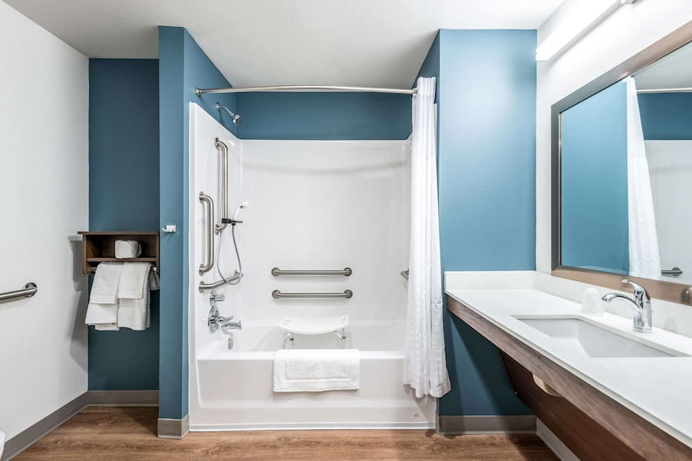 ルーム キングベッド 1 台 バリアフリー 禁煙 (Bathtub) - バスルーム