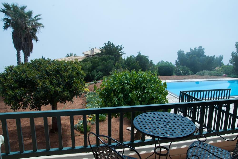 Vila, 6 kamar tidur, kolam renang pribadi - Balkon