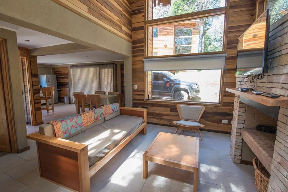 Design-Ferienhütte, Nichtraucher - Wohnbereich
