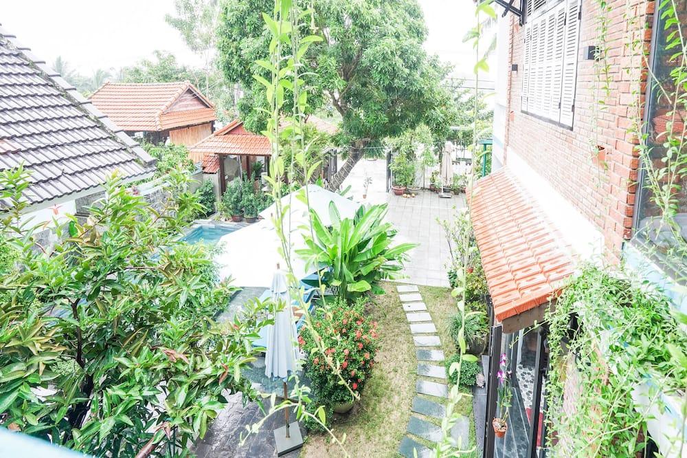 Tuba, vaade aeda - Vaade aiale
