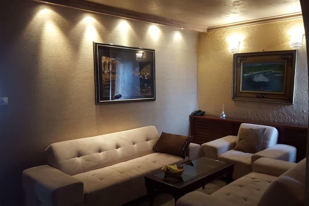 Apartament typu Exclusive, Łóżko king, dla niepalących - Powierzchnia mieszkalna
