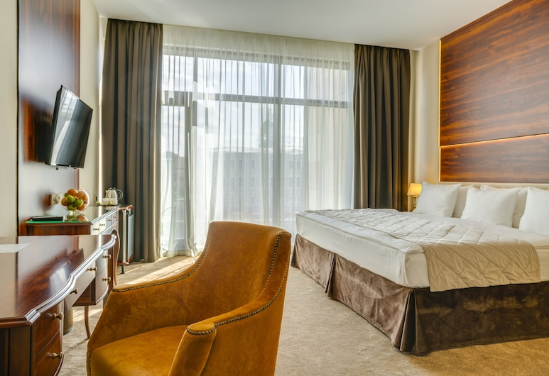 Viewpoint Hotel, Moscou, Chambre Luxe, vue fleuve, Chambre
