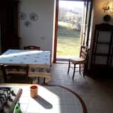 Апартаменты, 2 спальни, вид на долину (Terrazza) - Обед в номере