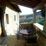 Апартаменты, 2 спальни, вид на долину (Torretta) - Терраса/ патио