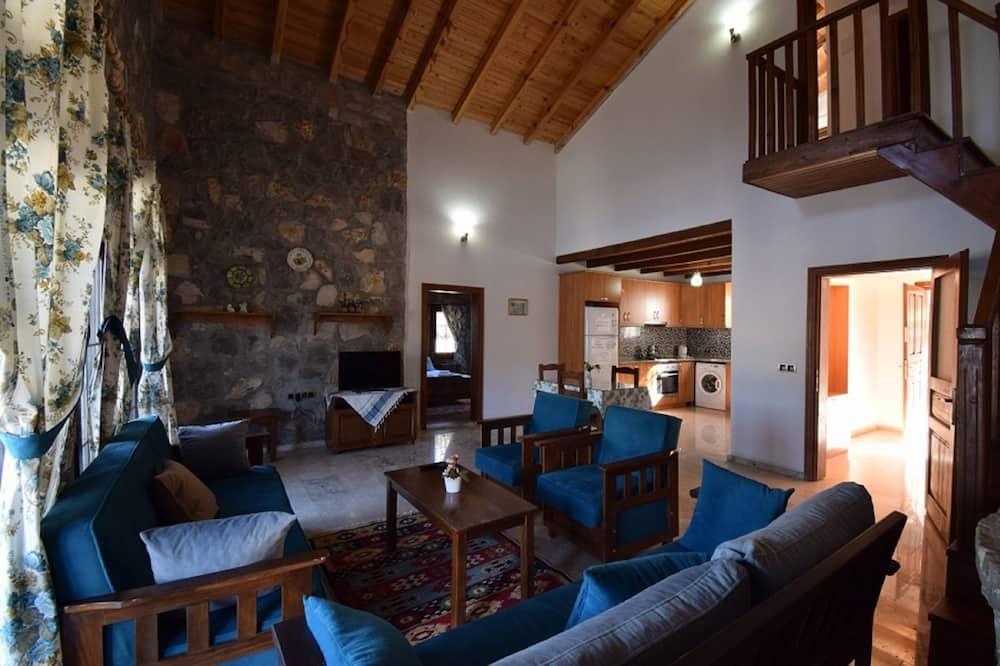 Vila, 4 ložnice - Obývací prostor