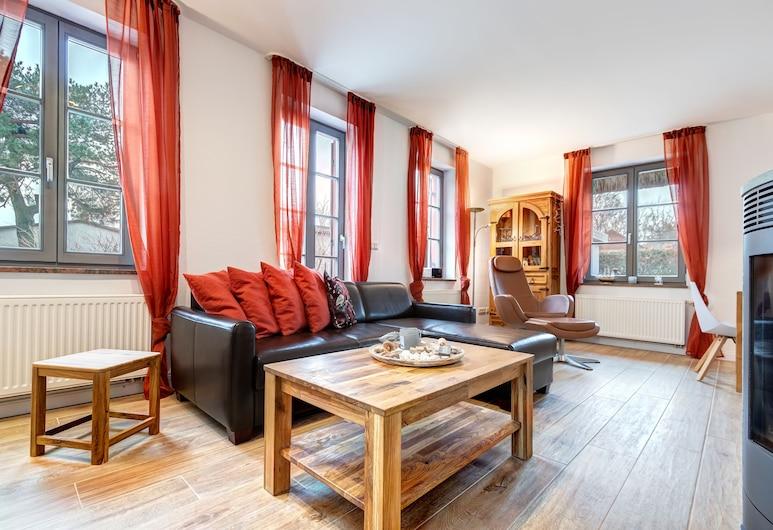 Ferienhaus Hornhecht, Kamminke, Obývačka