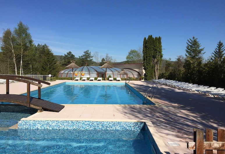 Camping Le Moulin, Patornay, Outdoor Pool