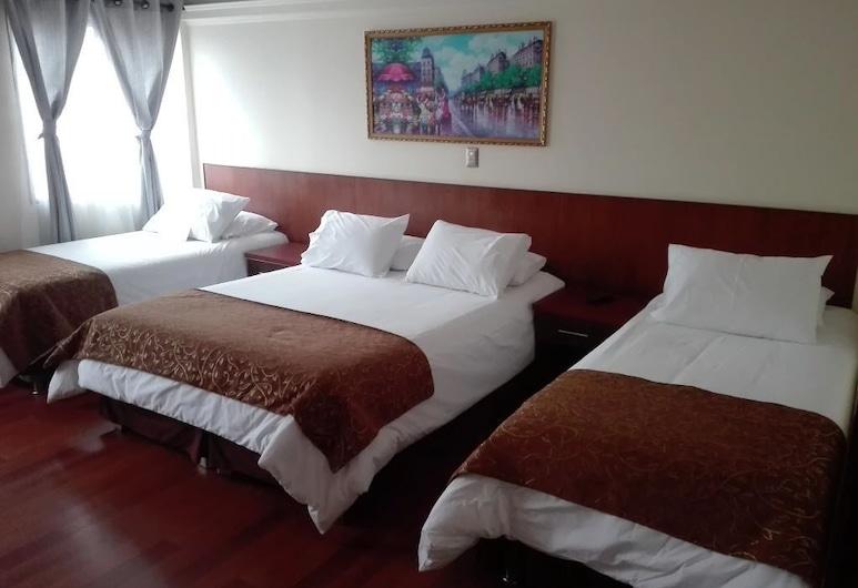 紐溫酒店, 蝶夢谷, 家庭三人房, 多張床, 非吸煙房, 客房